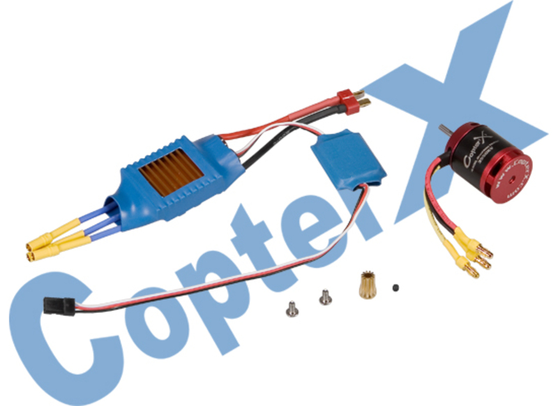 CopterX 430XL Brushless Motor & 50A Brushless ESC фото 1