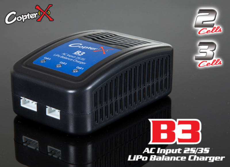 CopterX B3 2-3Cell LiPo Balance Charger фото 1