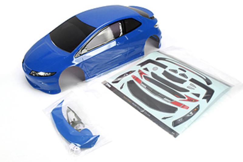 Team Magic E4D TPR Pre-painted Body Shell Blue фото 1