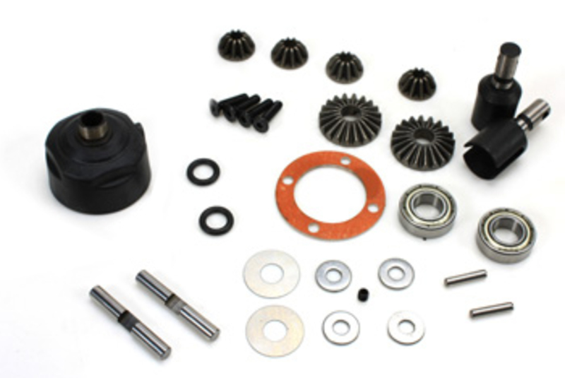 Team Magic E6 Complete Differential Kit F/R фото 1