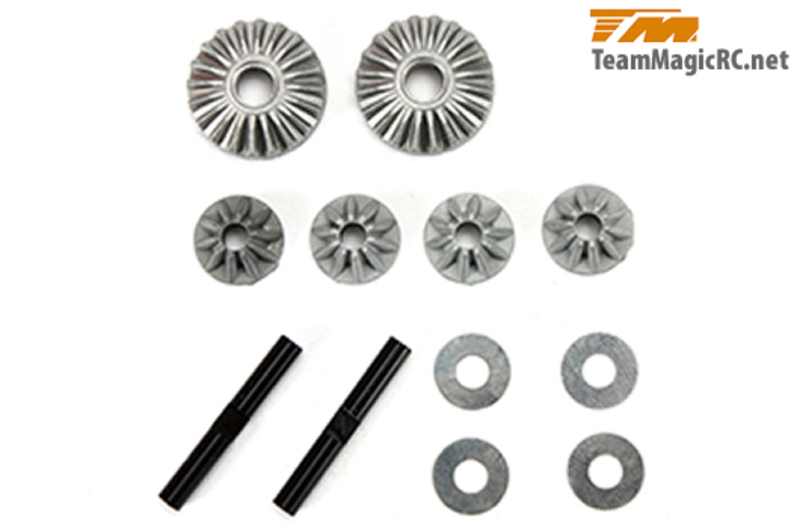 Team Magic Differential Bevel Gear Set for 1 diff фото 1