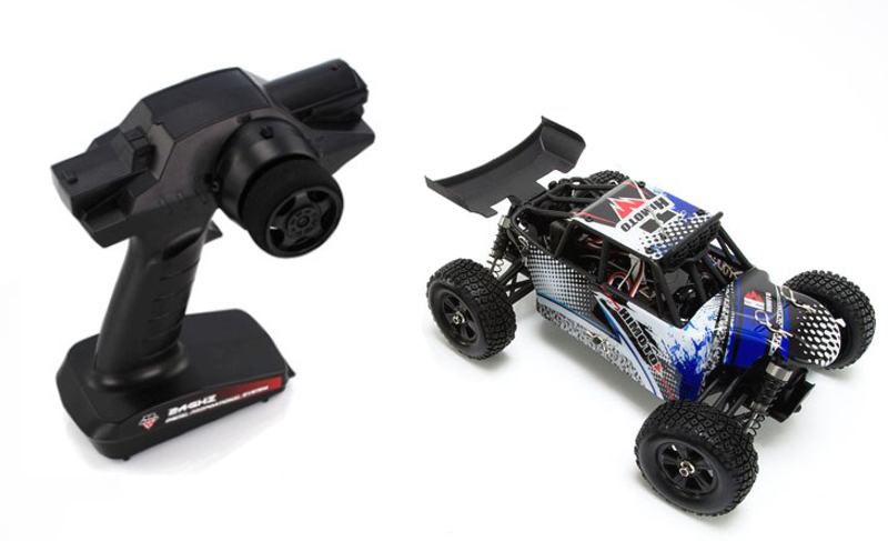 Багги 1:18 Himoto Barren E18DBL Brushless фото 6