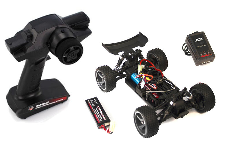 Багги 1:18 Himoto Spino E18XBL Brushless (черный) фото 7