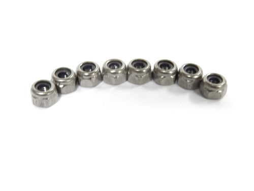 M4 Nylon Lock Nut 8P