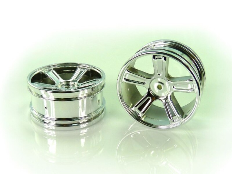 23626V 1:18 Chrome Rims 2P фото 1