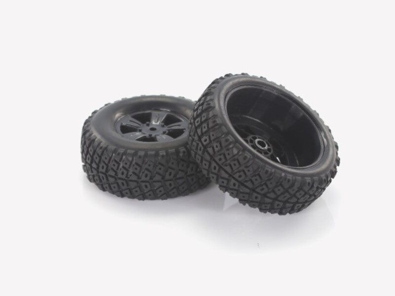28669 1:18 Desert Buggy Tires & Rims 2P фото 1