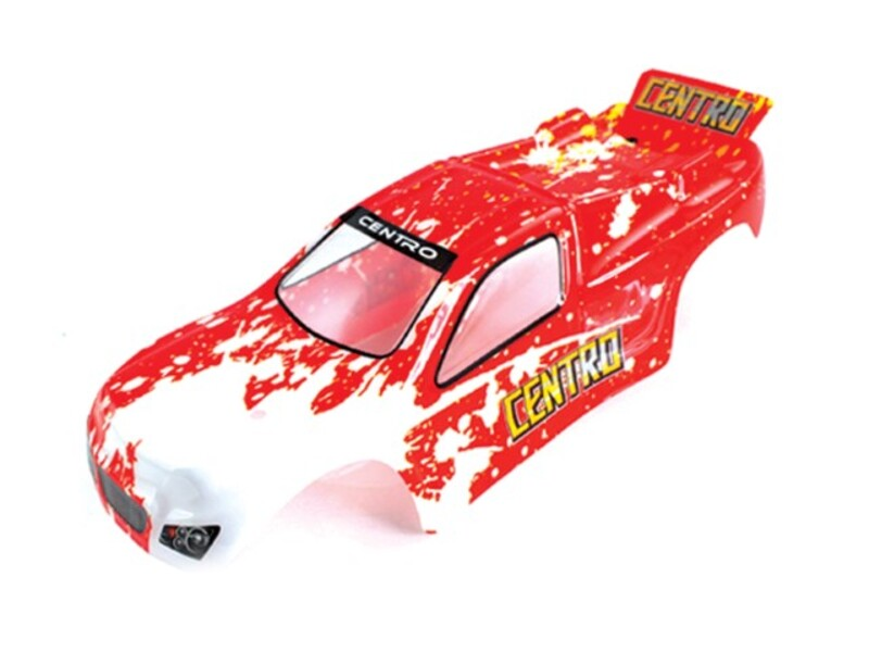 1:18 Truggy Body Red фото 1