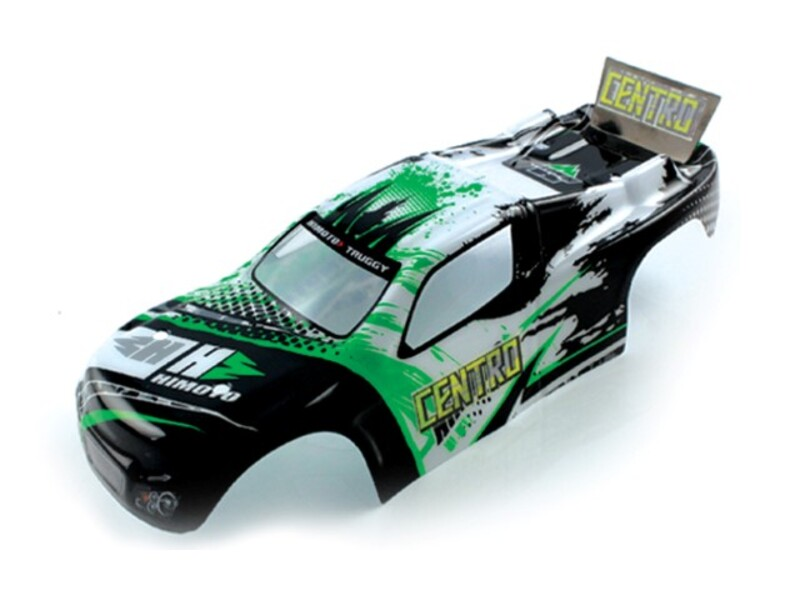 28702 1:18 Truggy Body White фото 1