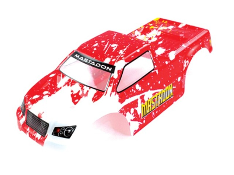 1:18 Truck Body Red фото 1