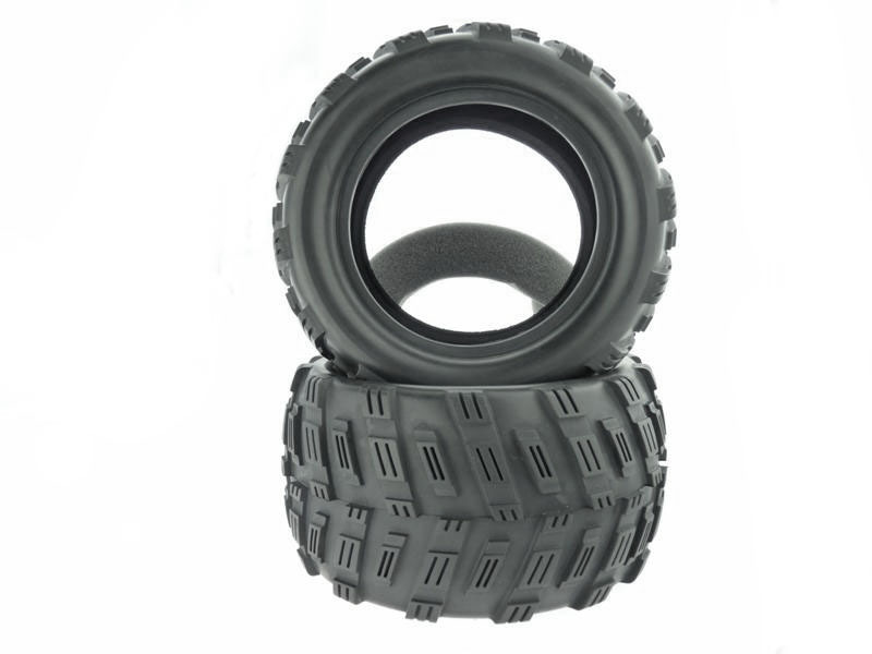 Tire with Foam Insert For Monster Truck 2P фото 1