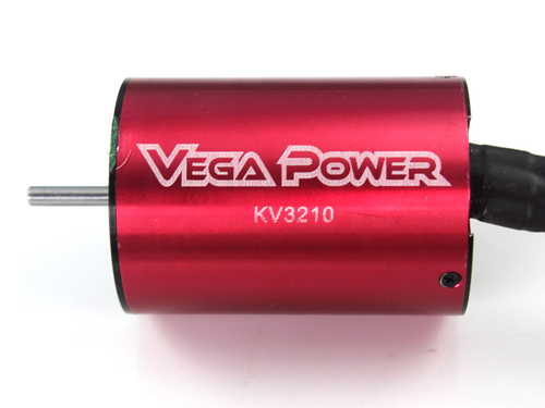 1:10 3650KV3210 Sensorless Brushless Motor 11T KV3210 3.5 Shaft Banana Plug