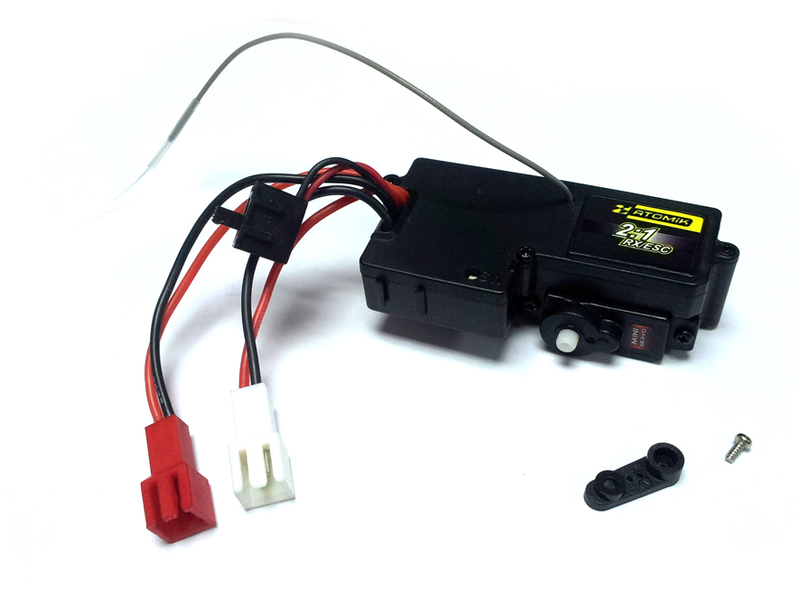 1:18 HTX-243RES 3in1 Servo/ESC/Receiver фото 1