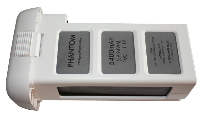 Аккумулятор AGA POWER Li-Pol 5400mAh 11.1V 3S 10C DJI Phantom 2 фото 1