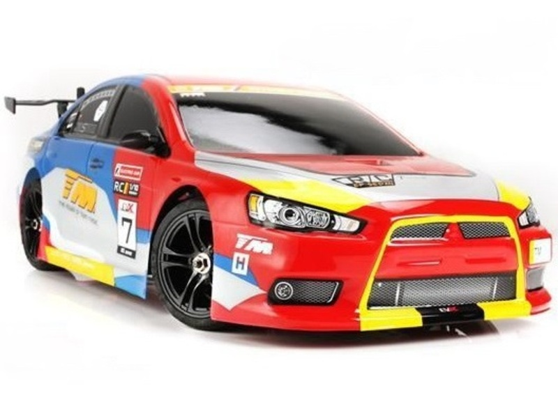 Шоссейная 1:10 Team Magic E4JR II Mitsubishi Evolution X фото 1