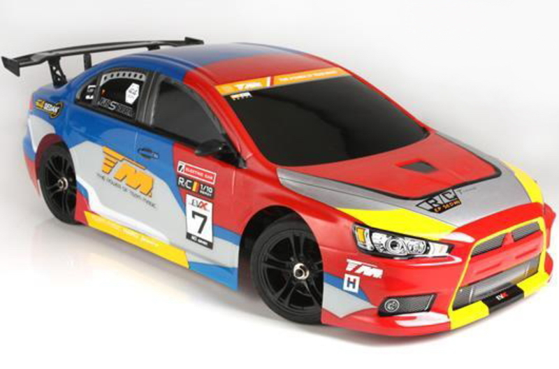 Шоссейная 1:10 Team Magic E4JR II Mitsubishi Evolution X фото 2