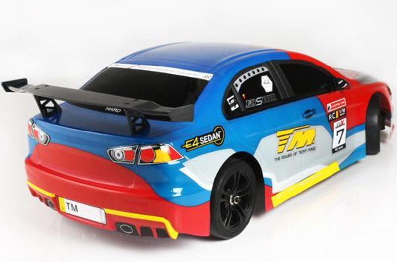 Шоссейная 1:10 Team Magic E4JR II Mitsubishi Evolution X фото 3