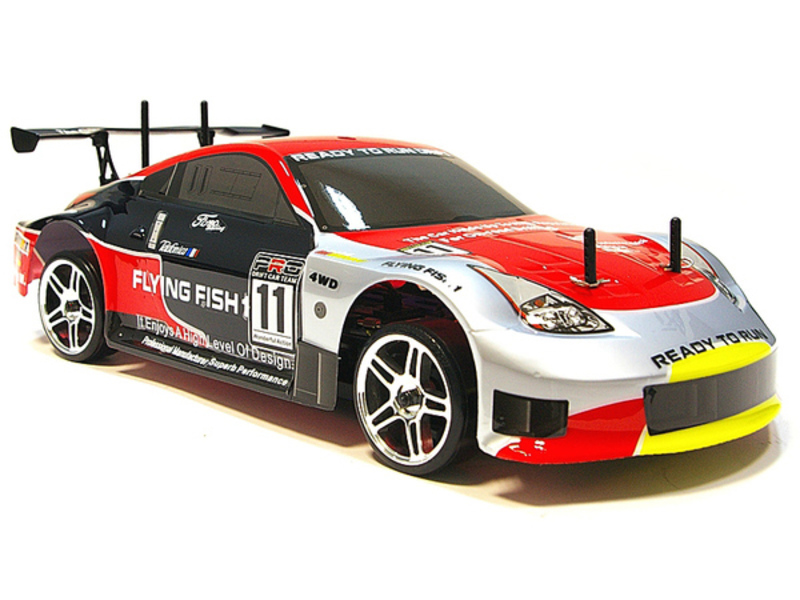 Дрифт 1:10 Himoto DRIFT TC HI4123 Brushed (Nissan 350z) фото 1