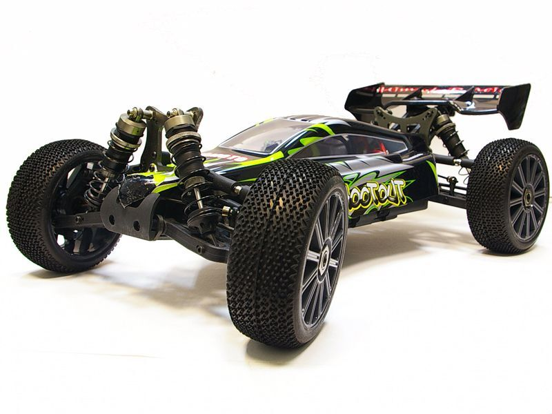 Багги 1:8 Himoto Shootout MegaE8XBL Brushless (зеленый) фото 2