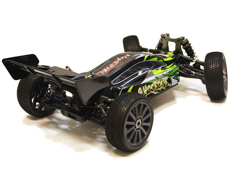 Багги 1:8 Himoto Shootout MegaE8XBL Brushless (зеленый) фото 3
