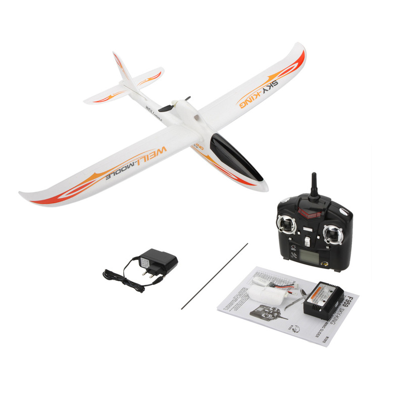 Планер 3-к р/у 2.4GHz WL Toys F959 Sky King фото 3