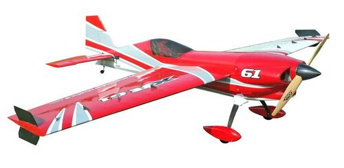 Самолёт р/у Precision Aerobatics XR-61 1550мм KIT (красный)