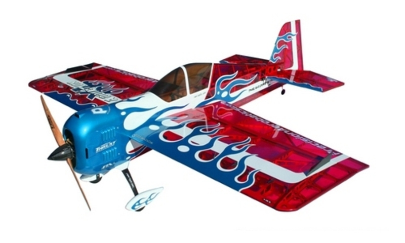 Самолёт р/у Precision Aerobatics Addiction XL 1500мм KIT (красный) фото 1