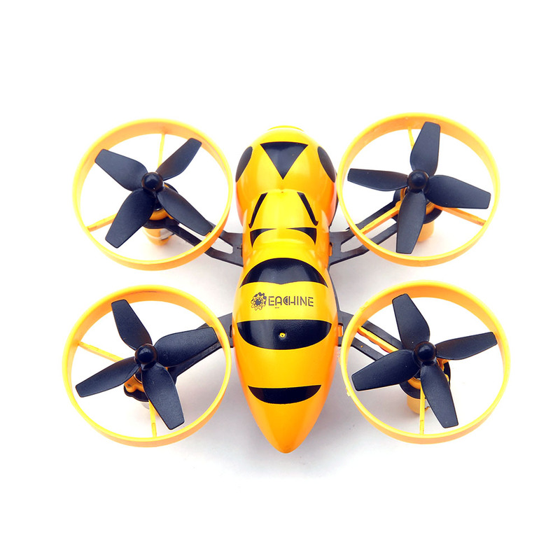 Квадрокоптер мини р/у Eachine Fatbee FB90 с камерой FPV 5.8GHz (BNF FlySky) фото 4