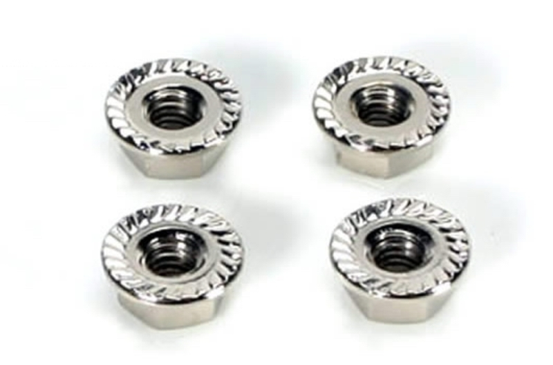 Team Magic 4mm Special Wheel Lock Nut 4p фото 1