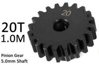 Team Magic M1.0 20T Pinion Gear for 5mm Shaft