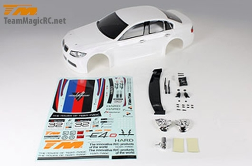 Team Magic E4D 320 Pre-painted Body Shell